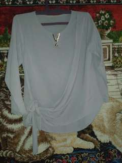 Baju Blouse Wanita warna ungu