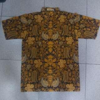 Baju Batik Asli Margaria ukuran small ( S )