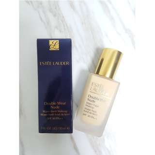 Estée Lauder Double wear nude 粉底液 Foundation Estee Lauder