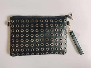 Black Clutch/Sling Bag