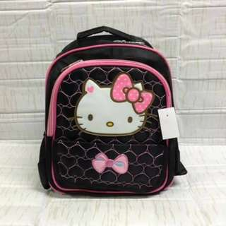Children's Hello Kitty Character Backpack (Black)