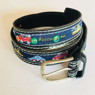 Mini Car Boys Belt