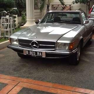Mercedes Benz Classic 350sl
