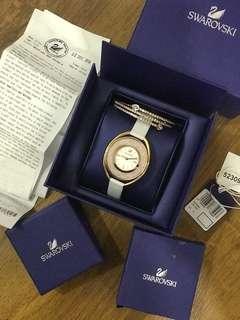 Swarovski Watch with matching bracelet
