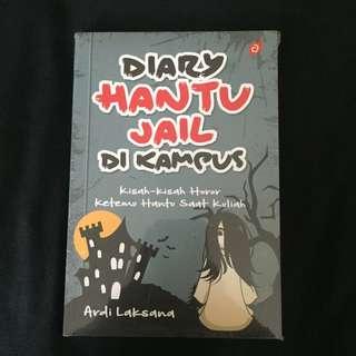 Diary hantu jail kampus (masih di plastik)