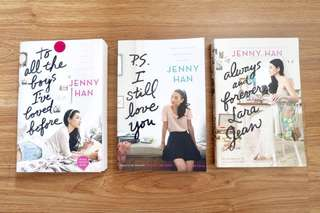 1 set (3 books) Jenny Han To All The Boys I've Loved Before