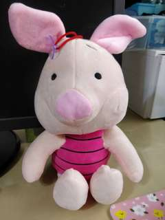 Piglet stuffed toy soft toy and friends pooh bear