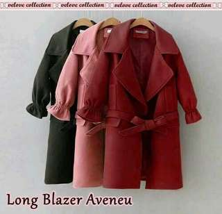 Long blazer avenue 3 colour