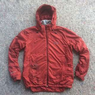 MOUNTAIN HARD WEAR OUTDOOR JACKET PERFORMANCE SHELL RED