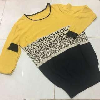 Sweater kuning Glitter