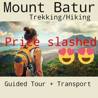 [BIG SALE] Hiking Mount Batur for 2pax!