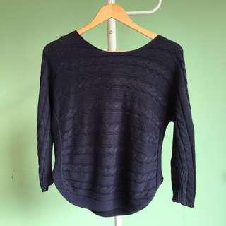 Suite Blanco Navy Sweater