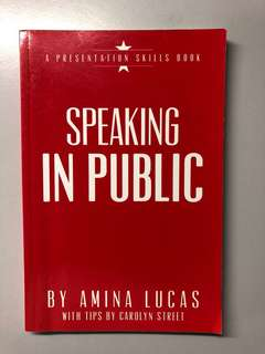 Speaking in Public Book