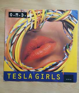 Tesla Girl - OMD ( 12'Single Vinyl Record)