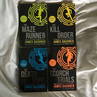 The maze runner series (full set)