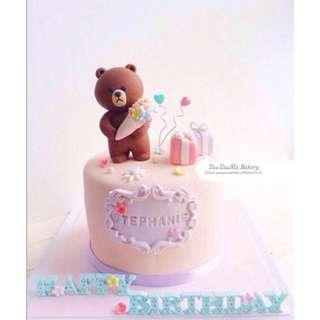 熊大生日蛋糕