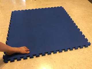 Three pieces martial arts mats 15 sgd each instead of 50