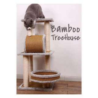 [BN HARI RAYA SALE] Bamboo Cat TreeHouse