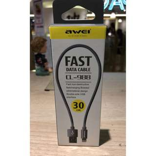 AWEI CL-988 Fast Data Cable 30cm