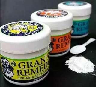 💥限時秒殺160/2件 紐西蘭 Gran's remedy 神奇去腳臭除臭劑 神奇除臭粉 50g 3種味-