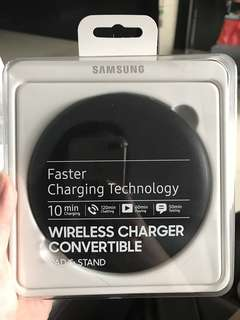 ✨Authentic Samsung Wireless Charger Convertible pad stand