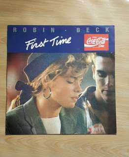 First Time - Robin Beck ( 12'Single Vinyl Record)