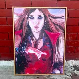 Wanda Maximoff Framed Canvas Wall Decor