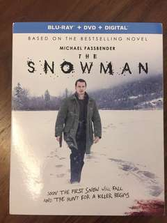 The Snowman Blu Ray Michael Fassbender