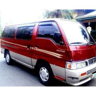 Van for RENT (09751404669 / 3983533)