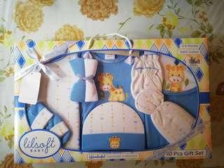 New Born 10pcs Baby Gift Set