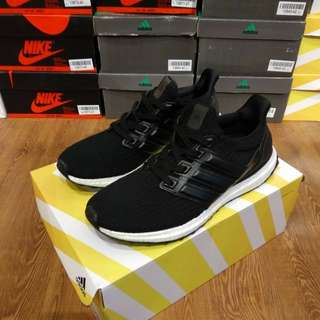 "Adidas Ultraboost 3.0 ""Leather Cage Core Black"" UA Original BASF Boost"