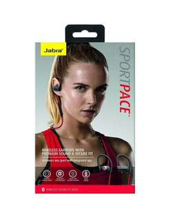 Jabra Sport Pace Wireless Sports Headphones (Red)