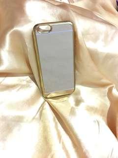 Gold mirror case IPhone6