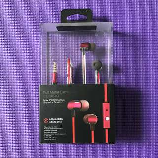 GGMM Full Metal Earphones (Cuckoo)