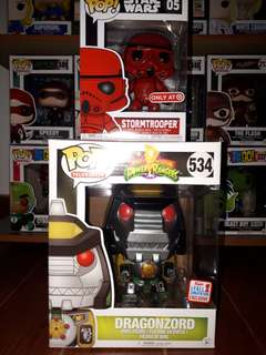 FCE Dragonzord and Target Red Stormtrooper