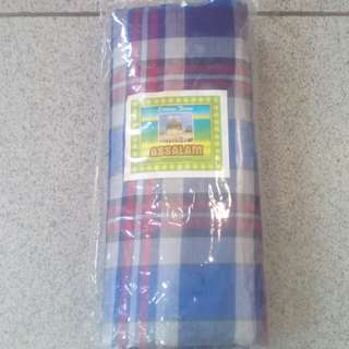 Sarung Tenun asli merek Assalam