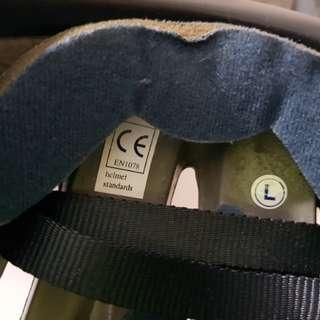 Powell helmet