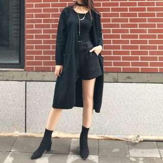 Charcoal cardigan