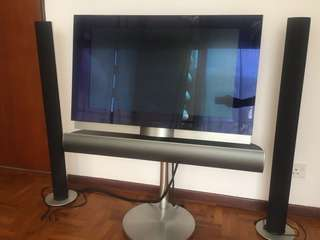 B&O tv and speakers