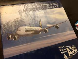 BN SQ Airbus A380 First to Fly Model