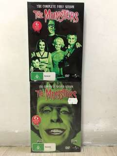 Universe Vintage Classic 1960s The Munsters DVD Complete Set