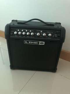Used Guitar Amplifier - Line 6 Spider IV 15 watt guitar amp
