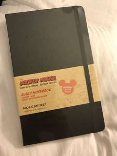 Moleskine Notebook Mickey Mouse Limited Edition