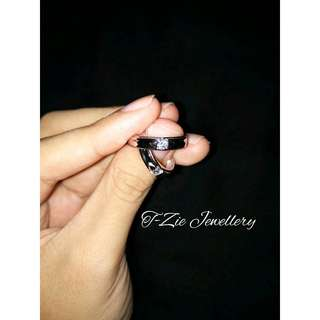 Cincin Coupla Silver 925