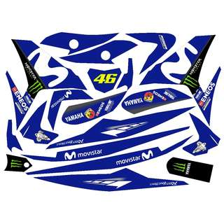 Y15ZR Movistar 2018 #46 - Sticker