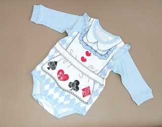 70/80碼 Disney Alice in Wonderland 長衫夾衣