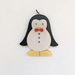Acrylic Penguin Pendant