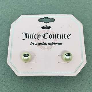 Juicy Couture Sample Earrings 皇冠logo珍珠耳環