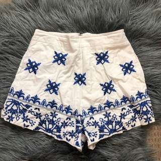 KOOKAI shorts with blue details