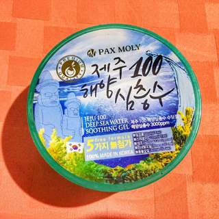 PAX MOLY JEJU 100 DEEP SEA WATER SOOTHING GEL